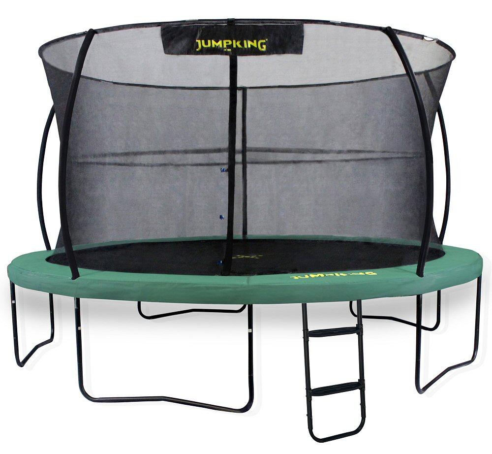 14ft Zorbpod Trampoline: Jumpking JumpPOD Deluxe 12ft Trampoline Green Pads